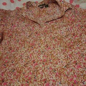 Eddie Bauer 3X womens blouse